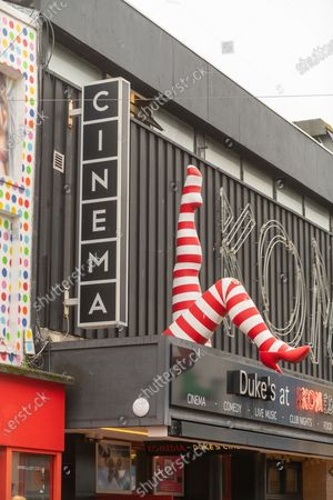 Duke's at Komedia, part of Cineworld is set to close this Thursday, with a total of 128 cinema closures. The lack of new film releases due to the Covid-19 pandemic has made the industry untenable. Duke's at Komedia, Gardner Street, Brighton.