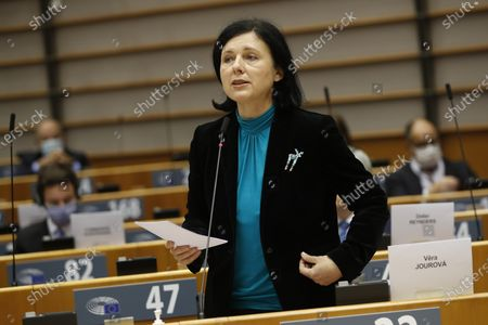 Editorial picture of EUParliament Plenary Session in Brussels, Belgium - 05 Oct 2020