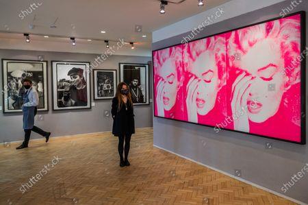 Editorial photo of Preview of Bonhams' Pop x Culture sale at New Bond Street., New Bond Street, London, UK - 05 Oct 2020
