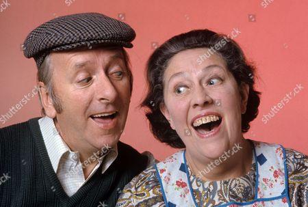 Hugh Lloyd and Peggy Mount