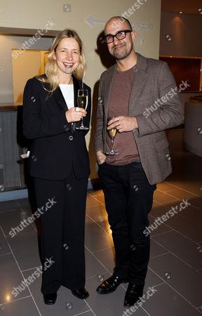 Iwona Blazwick, director of the Whitechapel Art Gallery  and Hari Kunzru