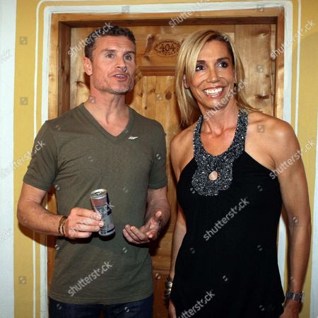David Coulthard and Marie Jordan