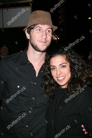 Pablo Schreiber and wife Jessica Monty