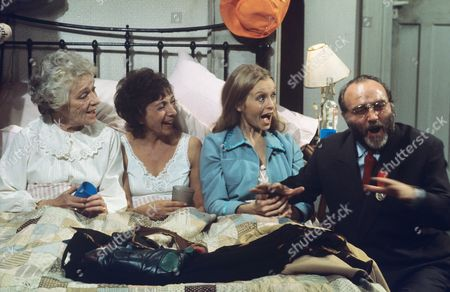 Beatrix Leahmann, Eve Pearce, Liza Goddard and Gerald James.