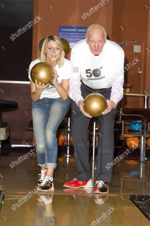 Ali Bastian and Sir Henry Cooper