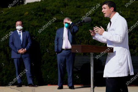 Editorial picture of Trump Virus Outbreak, Bethesda, United States - 05 Oct 2020