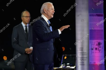 Editorial image of Election 2020 Biden, Miami, United States - 05 Oct 2020