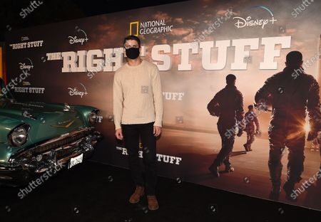 Editorial picture of National Geographic's 'The Right Stuff', Disney Plus Drive-In Festival, Santa Monica, Los Angeles, California, USA - 05 Oct 2020
