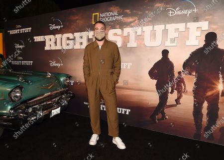 Editorial image of National Geographic's 'The Right Stuff', Disney Plus Drive-In Festival, Santa Monica, Los Angeles, California, USA - 05 Oct 2020