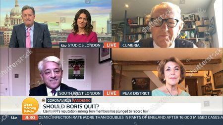 Piers Morgan, Susanna Reid, Professor John Ashton, John Bercow, Edwina Currie