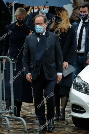 Editorial photo of Funeral of Juliandte Greco at the Church of Saint Germain des Pres, Paris, France - 05 Oct 2020