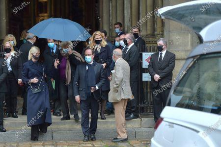 Stock Image of Julie Gayet and Francois Hollande