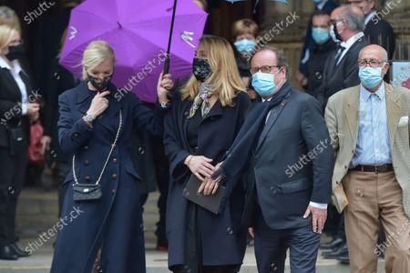 Julie Gayet and Francois Hollande