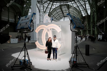 Editorial picture of Fashion S/S 2021 Chanel, Paris, France - 06 Oct 2020
