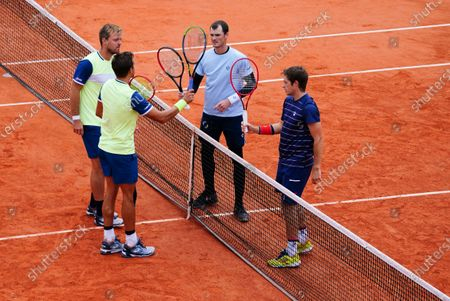 Jamie Murray and Neil Skupski lose their Men's Doubles Quarter Final to the German pair of Andreas Mies and Kevin Krawietz