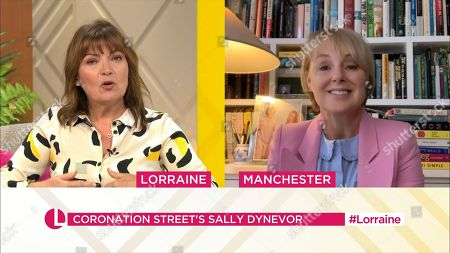Editorial picture of 'Lorraine' TV Show, London, UK - 06 Oct 2020