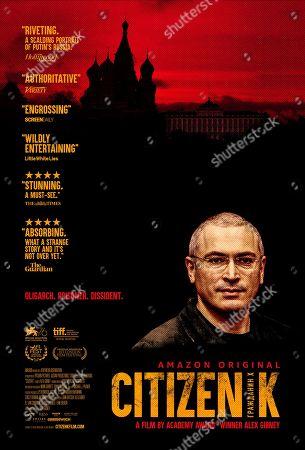 Citizen K (2019) Poster Art. Mikhail Khodorkovsky