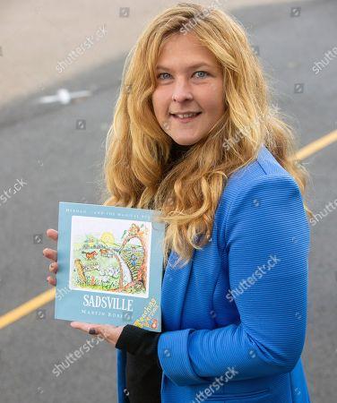Editorial picture of Martin Roberts lauches book ''Sadsville'', Paulton Junior School, Bristol, UK - 05 Oct 2020