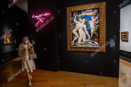 Editorial image of Sin a new exhibition at the National Gallery., National Gallery, London, UK - 06 Oct 2020