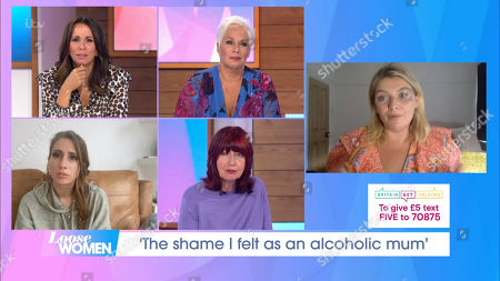 Stock Picture of Andrea McLean, Denise Welch, Stacey Solomon, Janet Street-Porter, Bryony Gordon
