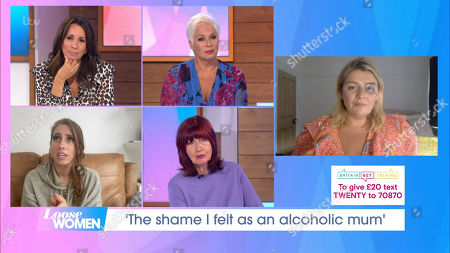 Stock Image of Andrea McLean, Denise Welch, Stacey Solomon, Janet Street-Porter, Bryony Gordon