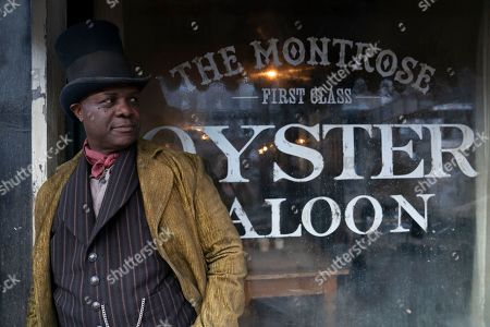 Stock Picture of Robert Wisdom as Cyrus Montrose