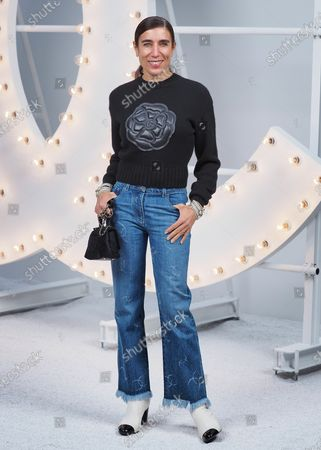 Blanca Li attends the Chanel Womenswear Spring/Summer 2021 show as part of Paris Fashion Week on October 06, 2020 in Paris, France.