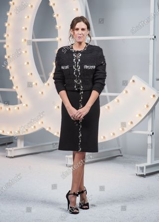 Stock Photo of Juliette Dol attends the Chanel Womenswear Spring/Summer 2021 show as part of Paris Fashion Week on October 06, 2020 in Paris, France.