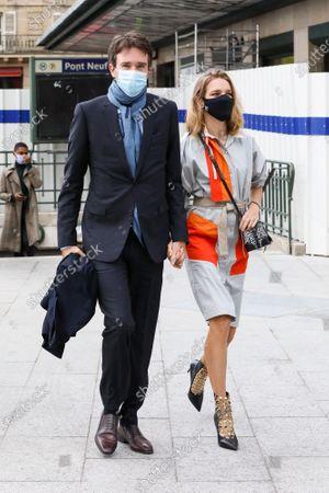 Stock Picture of Natalia Vodianova and Antoine Arnault