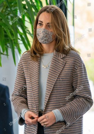 Editorial image of The Duchess of Cambridge visits students at the University of Derby, UK - 06 Oct 2020