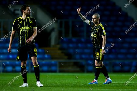 Editorial photo of Oxford United v Bristol Rovers, UK - 06 Oct 2020