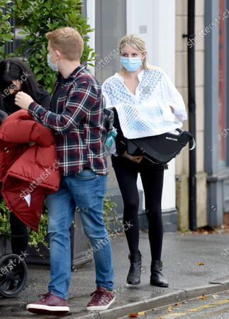 Editorial picture of Coronation Street stars out and about, Hale, Cheshire, UK - 06 Oct 2020