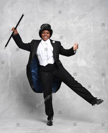 She might be more accustomed to boxing gloves and shorts, but Nicola Adams looked equally at home in top hat and tails as she replicated the moves of Hollywood legend Fred Astaire.  The former Olympic gold medal-winning boxer was posing exclusively for the Mail as she prepares to become Strictly Come Dancing's first contestant with a same-sex dance partner. Miss Adams, 37, who retired from the ring last year, said: 'I've been asked to do Strictly every year since 2012 but it's not been possible while I was always in training, so this year I was super excited to be able to take part.