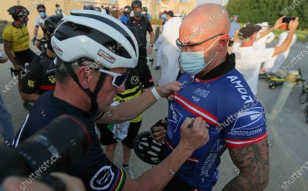 Editorial picture of US former cyclist Lance Armstrong in UAE, Dubai, United Arab Emirates - 06 Oct 2020
