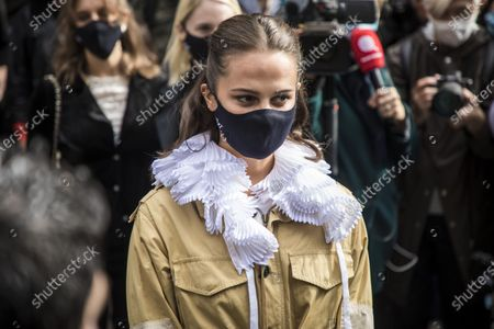 Editorial picture of Louis Vuitton - Runway - Paris Fashion Week S/S 2021, France - 06 Oct 2020