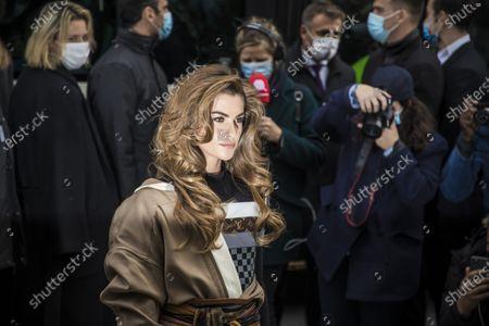 Editorial photo of Louis Vuitton - Runway - Paris Fashion Week S/S 2021, France - 06 Oct 2020
