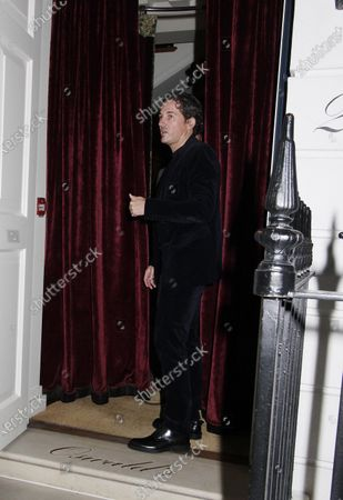 Editorial image of Celebrities at Oswald's club, London, UK - 04 Oct 2020