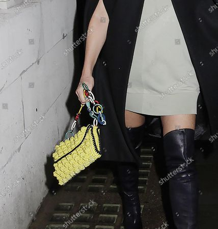 Editorial picture of Caprice Bourret at Loulou's, London, UK - 30 Sep 2020