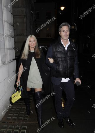 Editorial image of Caprice Bourret at Loulou's, London, UK - 30 Sep 2020