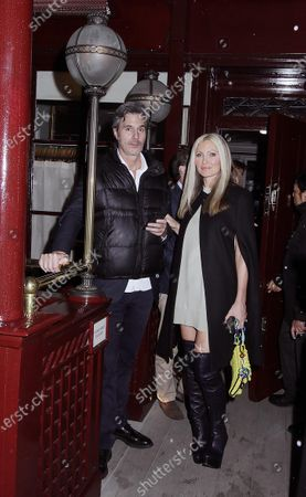 Stock Image of Caprice Bourret and Ty Comfort