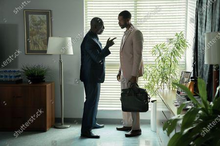 Isaiah Washington as Mayor Tydell Ruffin and Parker Sawyers as Andre Watkins