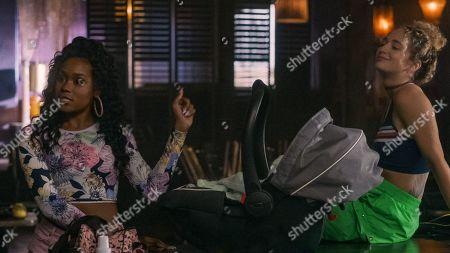 Shannon Thornton as Miss Mississippi/Keyshawn and Skyler Joy as Gidget
