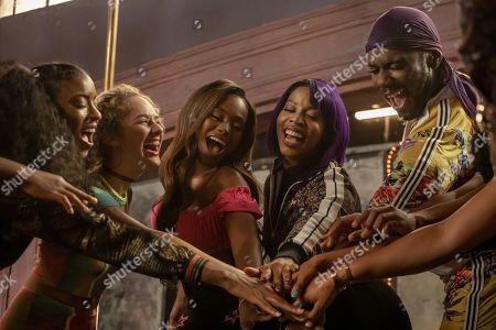 Chinet Scott as Brazil, Skyler Joy as Gidget, Shannon Thornton as Miss Mississippi/Keyshawn, Brandee Evans as Mercedes and Nicco Annan as Uncle Clifford