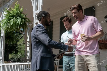 Parker Sawyers as Andre Watkins, Josh Ventura as Wayne Kyle and Donny Boaz as Wyatt Kyle