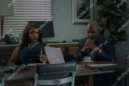 Angela Davis as Eloise and Isaiah Washington as Mayor Tydell Ruffin