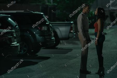 Parker Sawyers as Andre Watkins and Elarica Johnson as Autumn Night