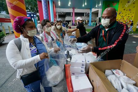 Editorial picture of Virus Outbreak Florida, Miami, United States - 22 Sep 2020