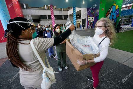 Editorial photo of Virus Outbreak Florida, Miami, United States - 22 Sep 2020