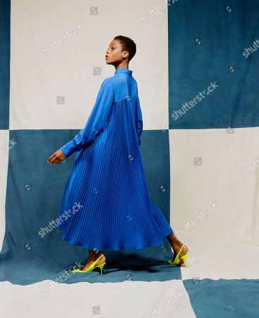 Editorial photo of Christopher John Rogers presentation, Spring Summer 2021, Paris Fashion Week, France - 25 Sep 2020