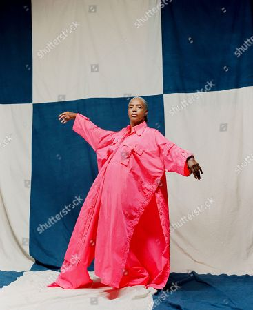 Editorial picture of Christopher John Rogers presentation, Spring Summer 2021, Paris Fashion Week, France - 25 Sep 2020